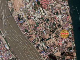 Land for sale very urgent in Chroy Changvar Riverside area