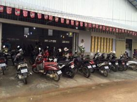 Warehouse For Rent On Road N.4 (277.4 m2) Near Bek Chan Market / Price : USD 450/Month Negotiable